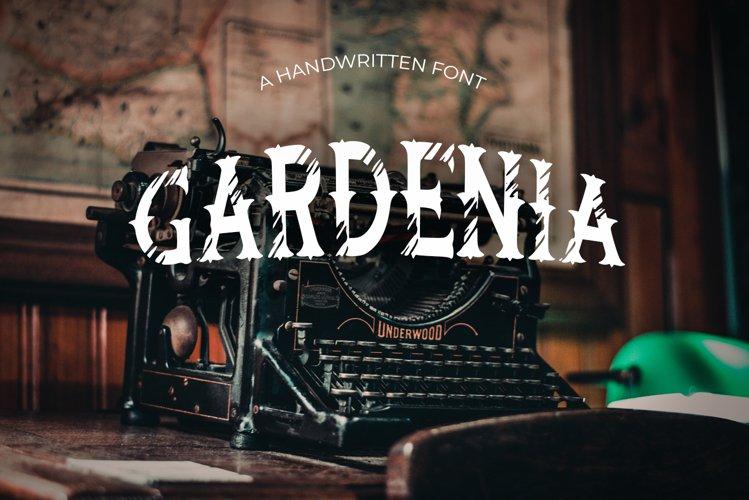 Gardenia Vintage Font example image 1