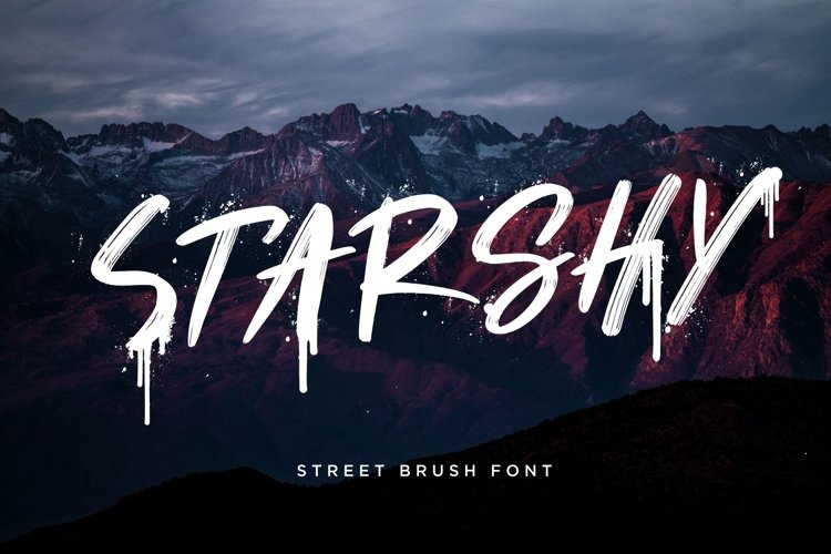 Starshy Street Brush example image 1