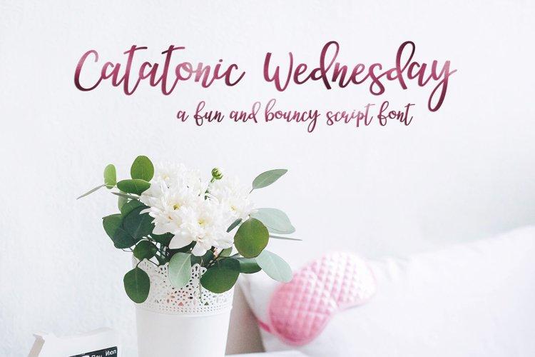 Catatonic Wednesday example image 1