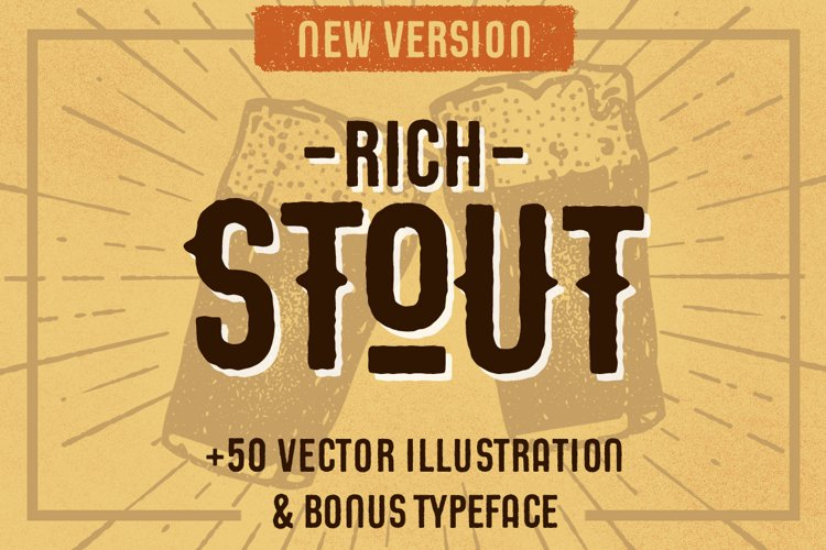 STOUT Typeface example image 1