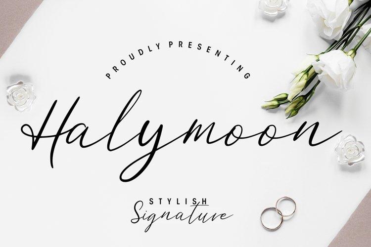 Halymoon Stylish Signature example image 1