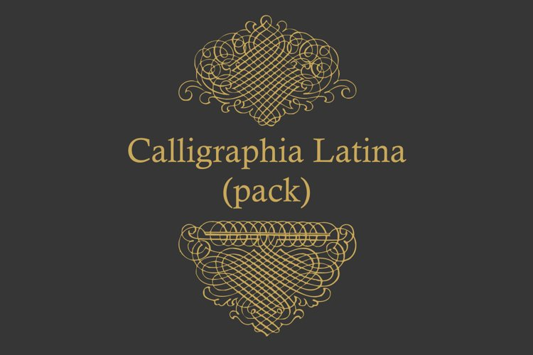 Calligraphia Latina Pack example image 1