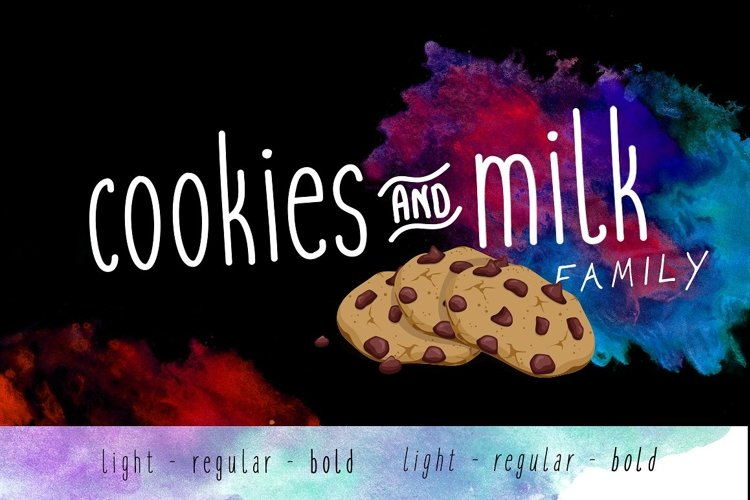 Cookies and Milk Family example image 1