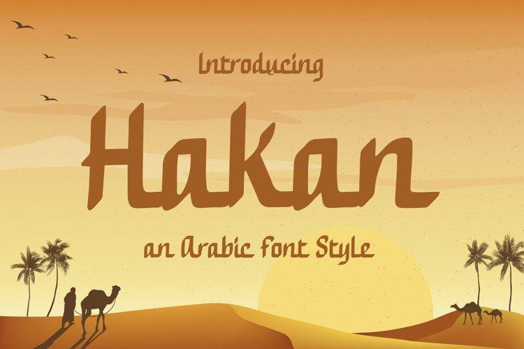 Hakan - Modern Arabic Font Style example image 1