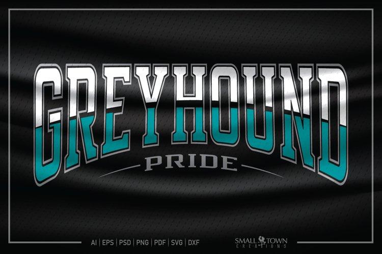Greyhounds, Greyhound Pride, Greyhound SVG example image 1