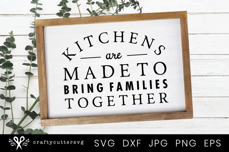 Farmhouse Kitchen Sign Svg Family Signs Svg Home Decor 581063 Cut Files Design Bundles