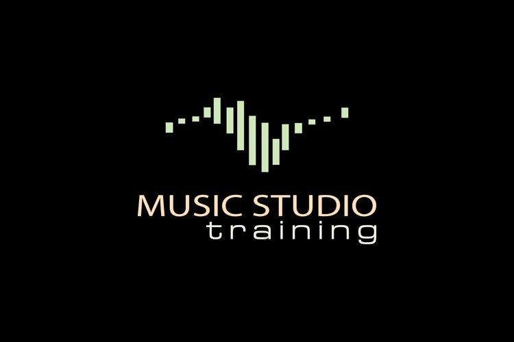 Simple Radio Logo design using bar example image 1