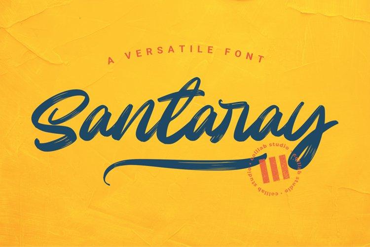 Santaray - A Versatile Font