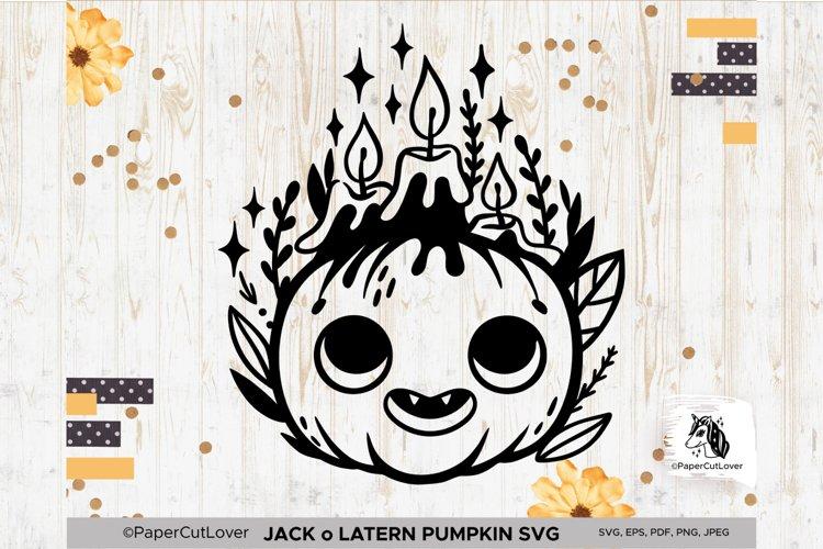 Jack o Lantern Pumpkin SVG Pumpkin face SVG Halloween Svg Cu example image 1