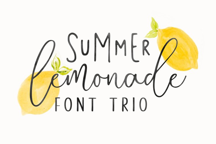 Summer Lemonade Extras example image 1