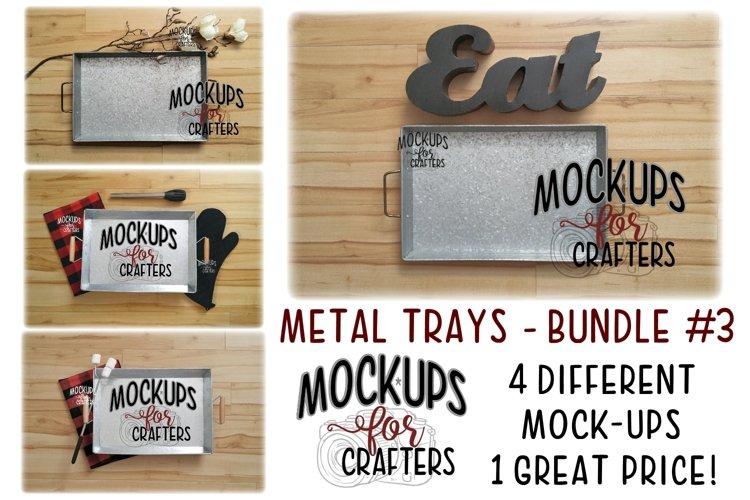 Metal trays bundle #3 - Cooking,Grilling, Bonfire - Walmart