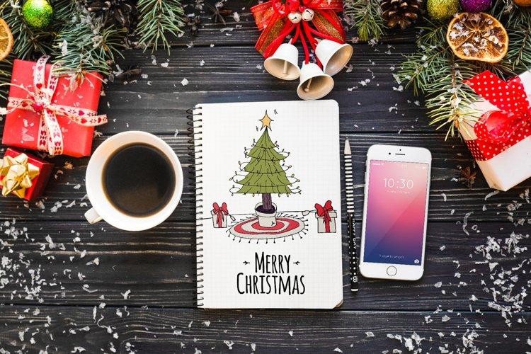 Christmas Card - hand drawn