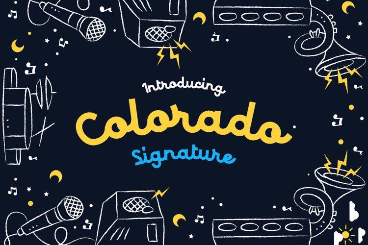 Colorado - Retro Typeface example