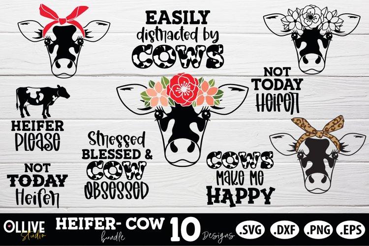 Heifer Bundle SVG| Cow Bundle SVG PNG DXF EPS
