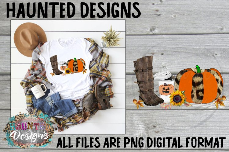 Fall Pumpkin Clip Art Design example image 1