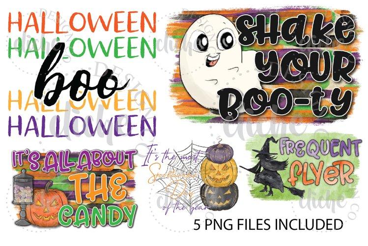 Halloween Sublimation Design Bundle Set