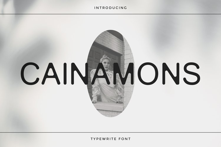Cainamons - Vintage Font DR example image 1