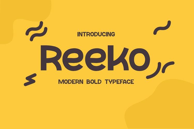 Reeko example image 1