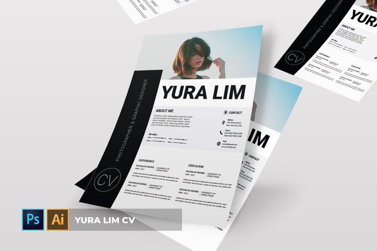 Yura Lim   CV & Resume example image 1