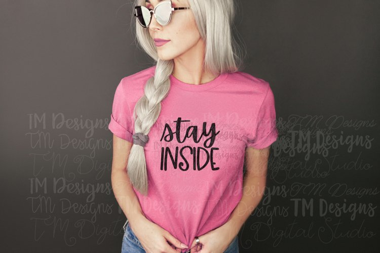 Stay Inside SVG / Printable example image 1