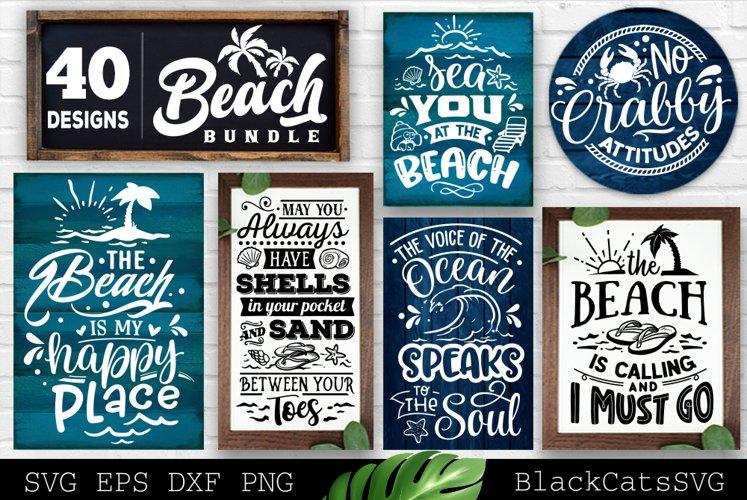 Beach Bundle SVG 40 designs Summer SVG bundle