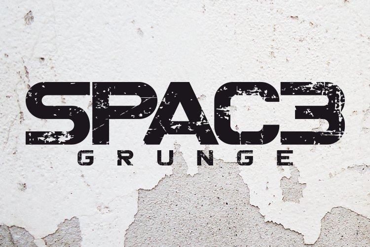 Spac3 - Grunge example image 1