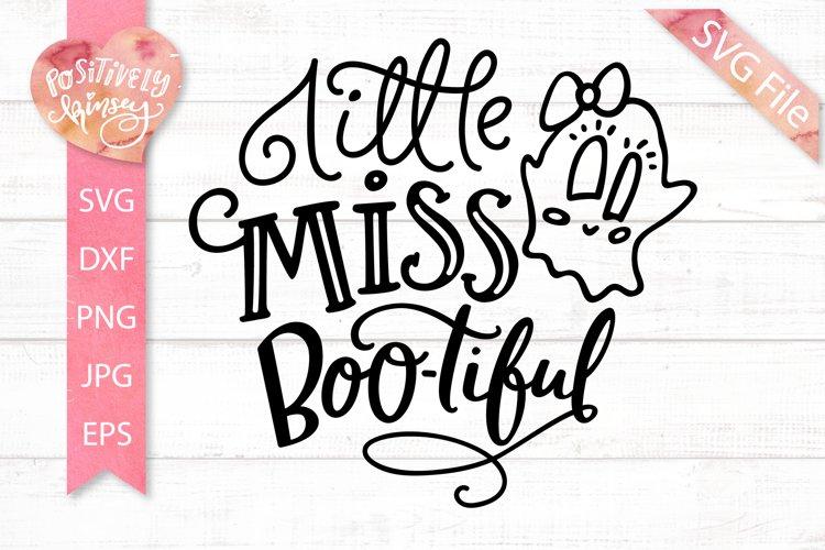 Little Miss Bootiful Svg Ghost Halloween Svg Dxf Eps Png 313087 Svgs Design Bundles