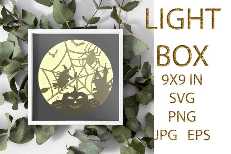 light Box SVG, Shadow Box, Halloween