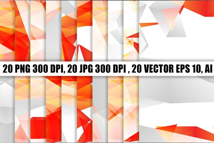 20 Polygonal Background Texture example image 1