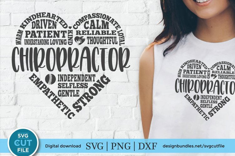 Chiropractor svg, a Chiropractic svg with subway art heart