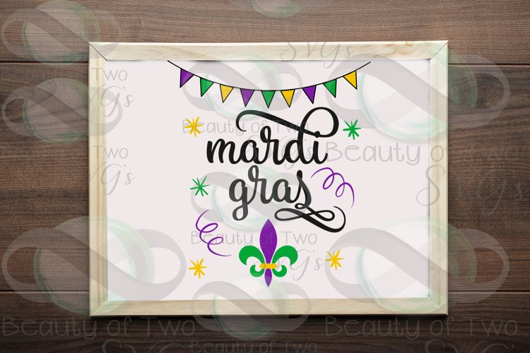 Mardi Gras svg & png, New Orleans svg, Fat Tuesday svg example image 1