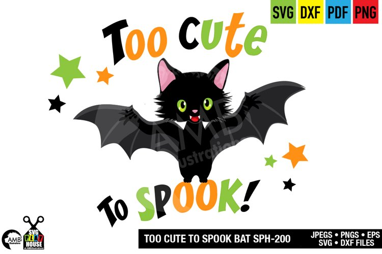 Bat SVG cutting file SPH-200