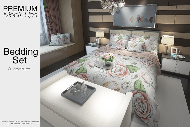 Bedding Mockup Pack example image 1
