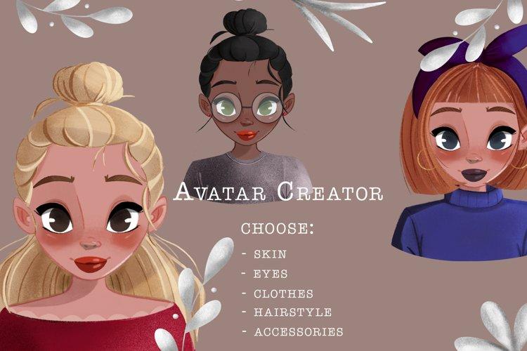 Avatar Character Creator