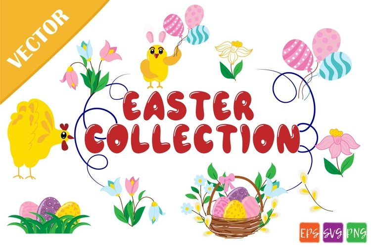 Easter collection SVG example image 1