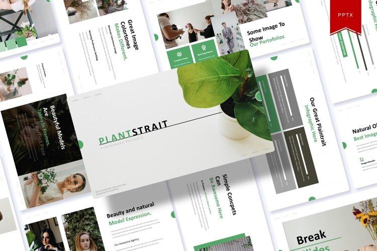 Plantstrait | Powerpoint Template example image 1