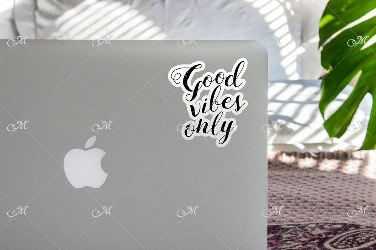 Sunny Macbook Mockup. PSD & JPG example image 1