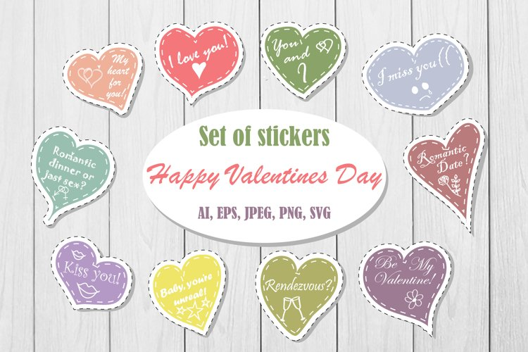 Love sticker pack example image 1