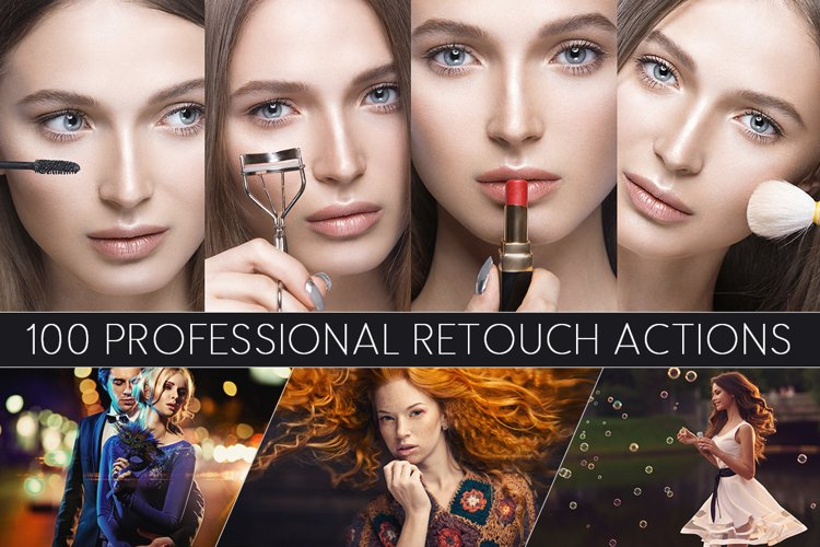 100 Professional Retouch Actions