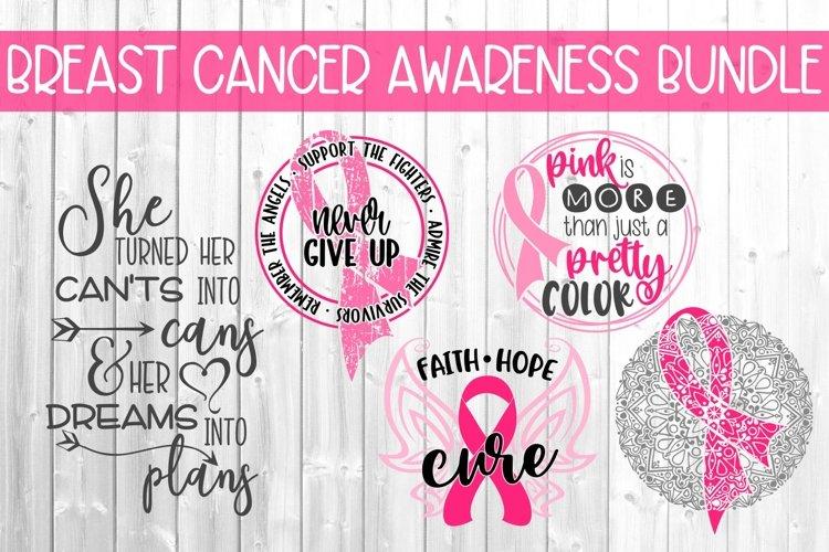 Breast Cancer Awareness Bundle Svg Dxf Png 603304 Cut Files Design Bundles