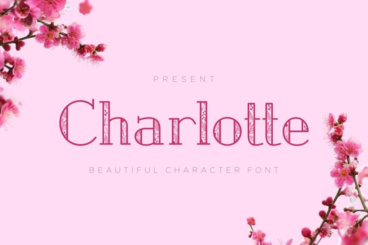 Web Font Charlotte - Crafted Display Font example image 1