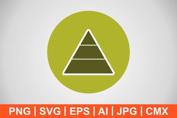 Vector Pyramid Icon example image 1