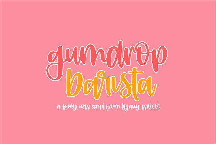 Gumdrop Barista example image 1