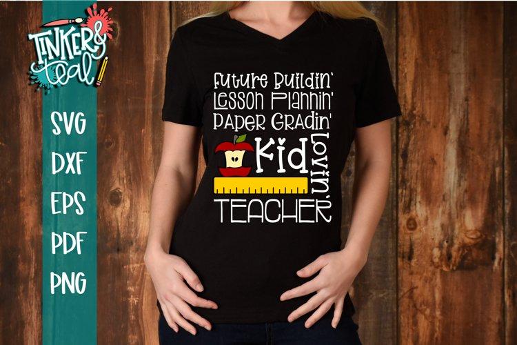 Kid Lovin Teacher SVG example image 1