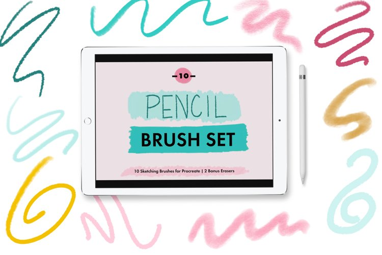 Pencil Brushes for Procreate