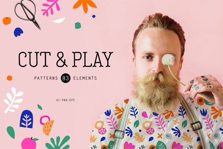 Cut & Play - seamless patterns