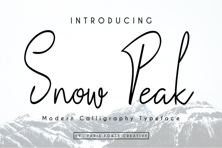 Snow Peak example image 1