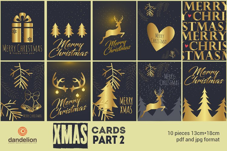 Christmas cards part 2 example image 1