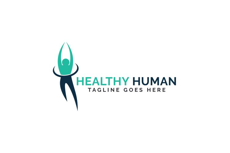 Healthy Human Logo Design. example image 1