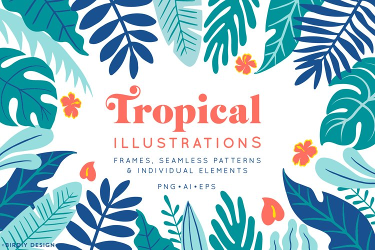 Tropical Illustrations example image 1